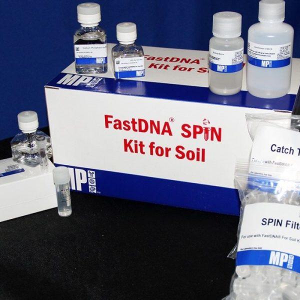 Extração DNA solo
