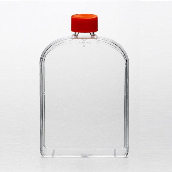 Frasco cultura 175cm², com tampa , estéril, tratamento ideal para cultura celular, pacote com 5 unidades, 431079 econolab marca Corning