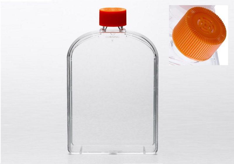 econolab Frasco cultura 175cm², com tampa , estéril, tratamento ideal para cultura celular, pacote com 5 unidades, 431079 marca Corning