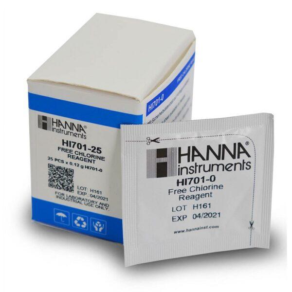Reagente Cloro Livre Hanna