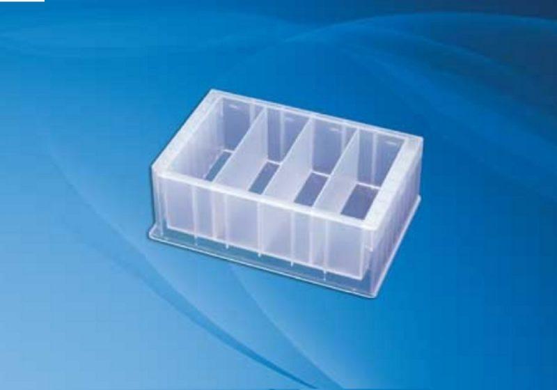 Reservatório4 poços ref.RES_MW4_HP , uso manual ou automação, livre de DNAse/RNAse e pirogenios pacote com 25 unidades, marca Axygen