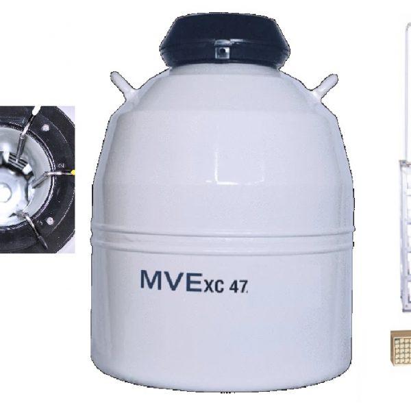 botijão nitrogênio para rack