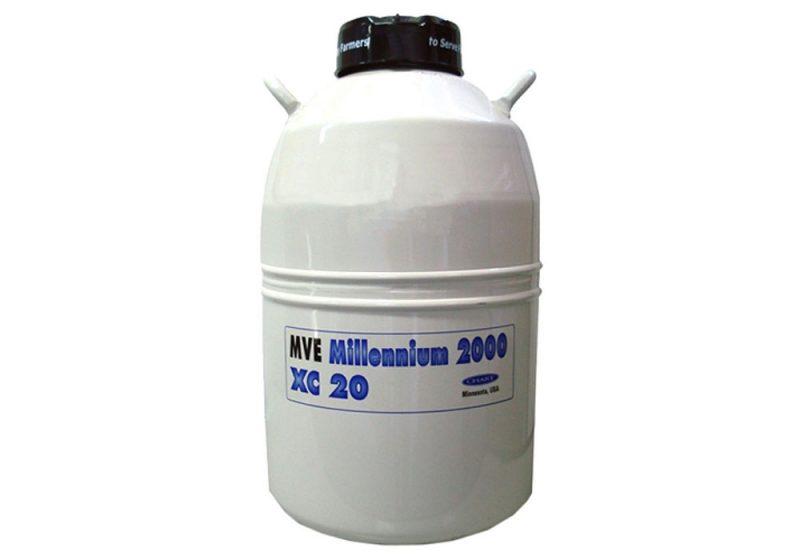 Botijão Nitrogênio mve