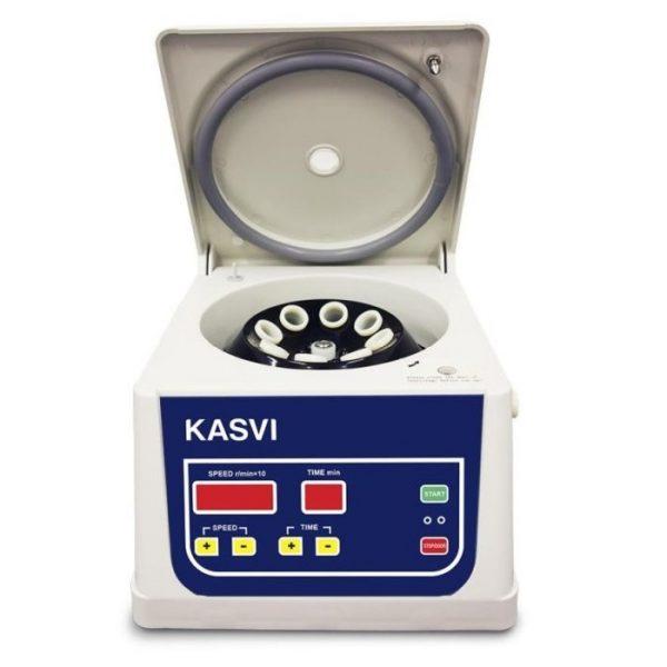 A Centrifuga 15ML angulo fixo KASVI DIGITAL 8X15 ML ROTOR DE ANGULO FIXO 4000 RPM REF K14-0815