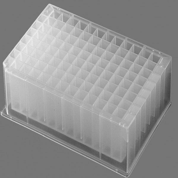 Econolab Microplaca 2200ul poço profundo Axygen ref.:P-2ML-SQ-C