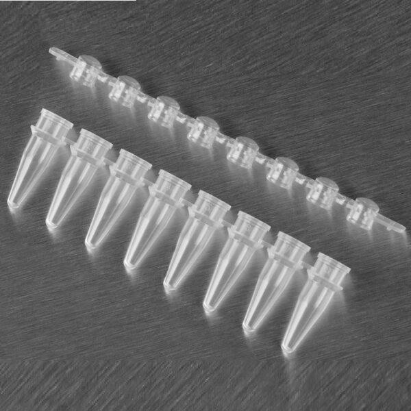 Tubo pcr tampa redonda PCR-0208-CP-C econolab