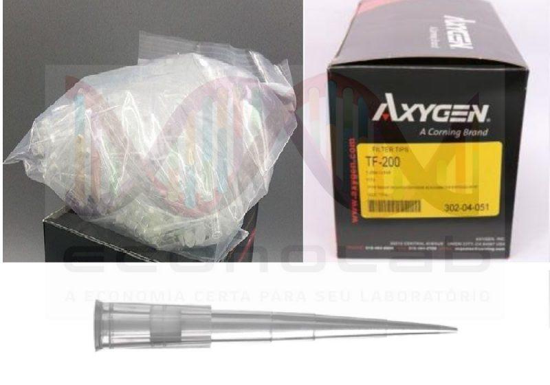 Ponteira 20ul filtro Axygen TF-20 Pronta entrega